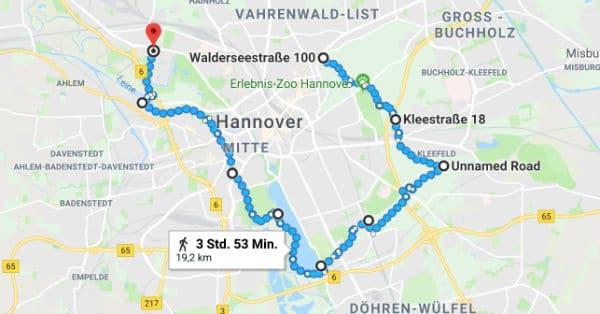 Halbmarathon & Marathon durch Hannover